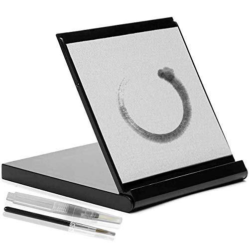 Mini Water Drawing Board Water Painting Board with Brush Unique Meditation Gifts...