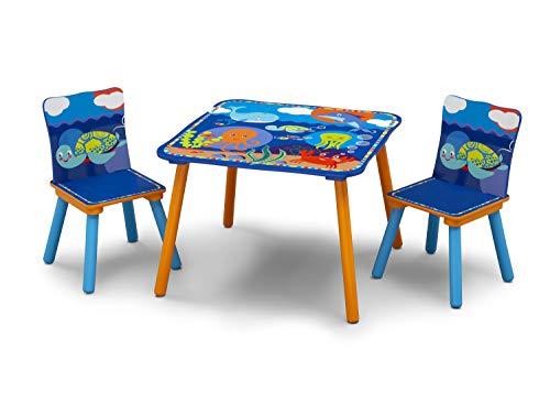 Delta Children Aventures du OCÉAN – lot de table et chaises, Unisexe