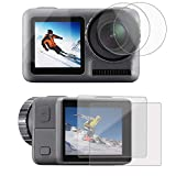 PCTC Screen Protector Compatible for DJI OSMO Action Camera Tempered Glass(4 Packs)
