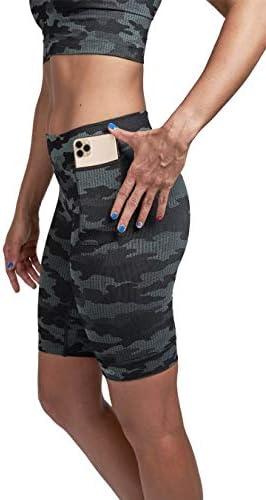 CALILOKO - Junipero Racing Shorts - Compression Activewear with Pockets - UPF 50