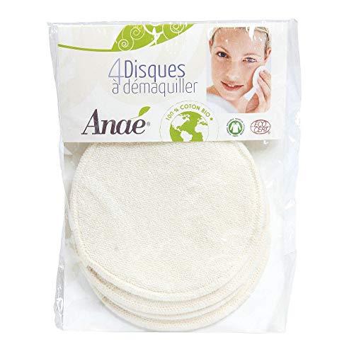 4 mini gants a demaquiller lavables coton bio