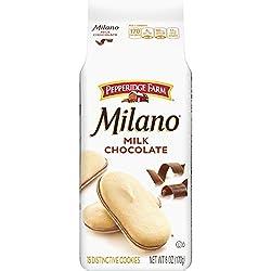 Pepperidge Farm Milano Milk Chocolate Cookies, 6 Ounce Bag