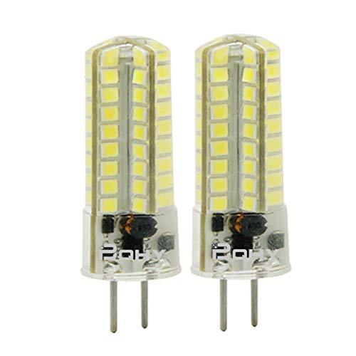 BQHY 5W G6.35 LED Bombilla luz No Regulable Blanco Frío 6000K 12V Doble Pin LED Bombilla Reemplazar Incandescente 50W 2-Packs [Clase de eficiencia energética A++]