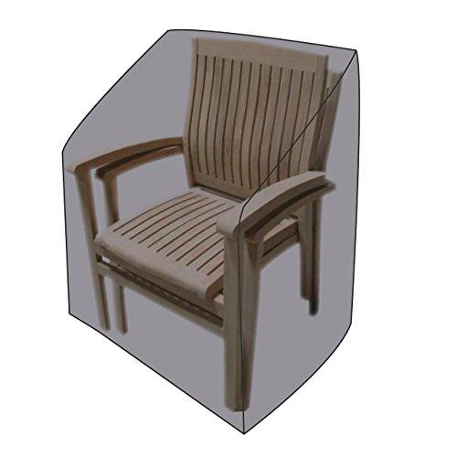 Lex Housse de protection pour chaises de jardin 65 x 65 x 120/80 cm, Sac de transport