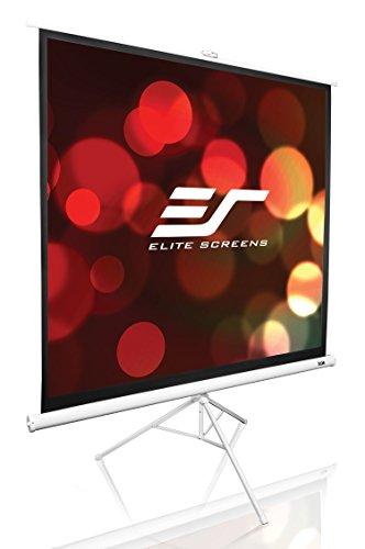 Elite Screens Stativleinwand Tripod Weiß 152 x 152 cm, 1:1 Format 85 Zoll, T85NWS1