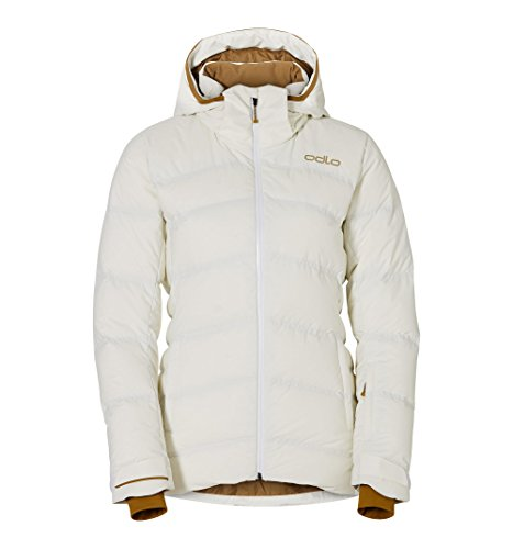 Odlo Cocoon Insulated Jacket Women - White-Dull Gold