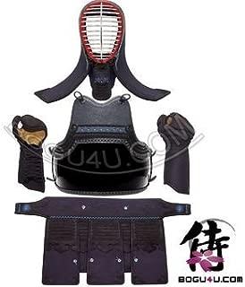 Bogu4u (PBM-02) Best Price! Pre-made Dignified 2mm Machine Stitch Kendo Bogu Armor Set (Including One Free Double-Knit Tenugui)