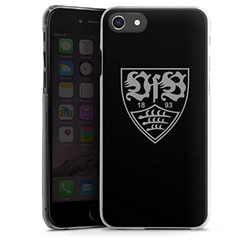 DeinDesign Hard Hülle kompatibel mit Apple iPhone 8 Schutzhülle transparent Smartphone Backcover Offizielles Lizenzprodukt VfB Stuttgart B&esliga