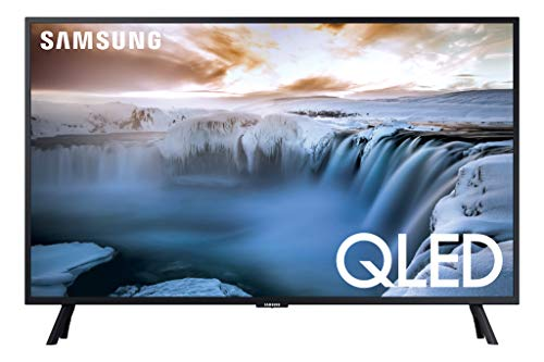 SAMSUNG QN32Q50RAFXZA Flat 32' QLED 4K 32Q50 Series Smart TV (2019 model)