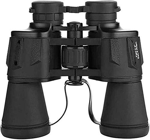 Telescope - Prismáticos (20 x 50, ultra HD, alta transmisión, senderismo, óptico, lente HD, telescopio, regalo perfecto para niños), color negro