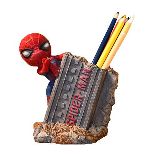Porte-stylo Spiderman pour le salon - Décoration d'intérieur - Cadeau d'anniversaire pour enfants