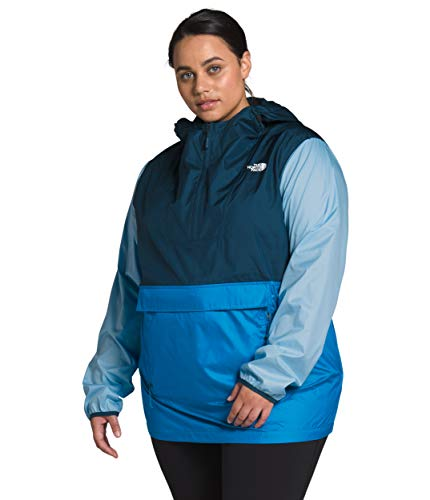 Preisvergleich Produktbild The North Face Women's Plus Fanorak 2.0,  Clear Lake Blue / Blue Wing Teal / Angel Falls Blue,  2X