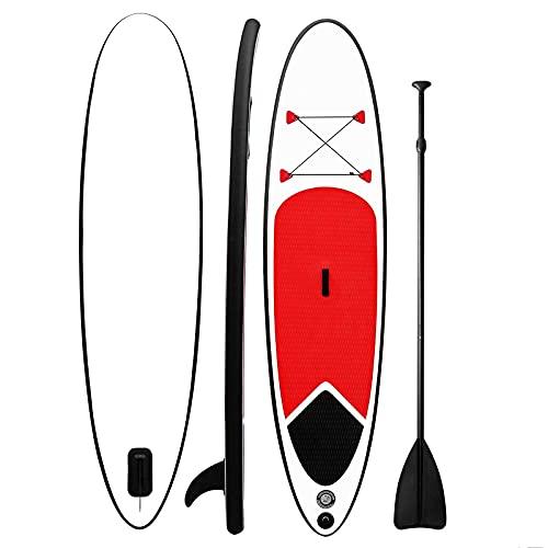 CDPC Tabla de Paddle Surf Inflable Integral 126 * 33 * 5.9', Capacidad de 330 Libras Estable versátil, Duradera y Liviana para Todos los Niveles de Habilidad Paddleboard