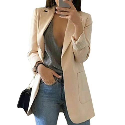 Blazer feminino MEIYIN, 15 cores, plus size, slim, casual, blazer, jaqueta de negócios, casaco longo