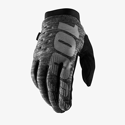 100% Erwachsene Brisker Handschuhe, Grau, XL
