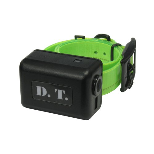 DT Systems Add-On or Replacement Dog Training Collar Receiver, Fluorescent Green, 8-25 in (H2O-ADDON-G)
