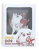 Okami Amaterasu 2 Inch Enamel Nendoroid Pin