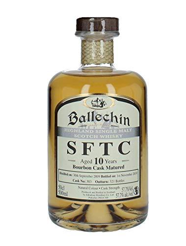 Edradour Ballechin 2009/2019 SFTC 10 Jahre Bourbon Cask Single Malt Whisky