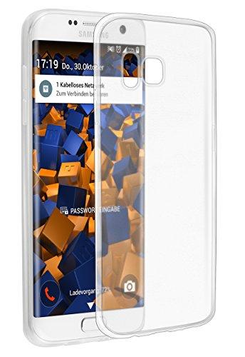 mumbi Hülle kompatibel mit Samsung Galaxy S7 Edge Handy Case Handyhülle dünn, transparent