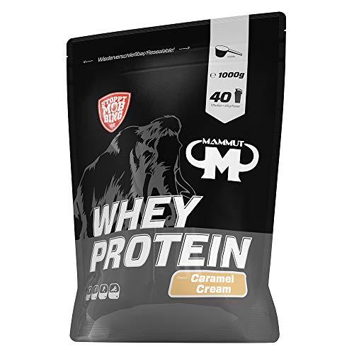 Mammut Nutrition Whey Protein Caramel Cream, 1000 g