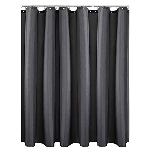 cortinas ducha gris oscuro