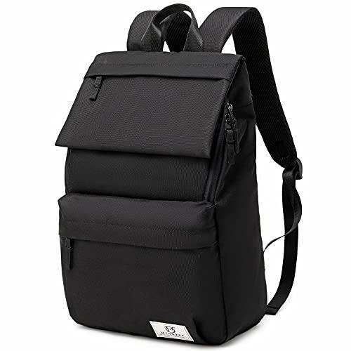 Myhozee Zaino da uomo e donna, impermeabile, con scomparto per PC portatile da 15,6 pollici e tasca antifurto, per escursioni, università, scuola