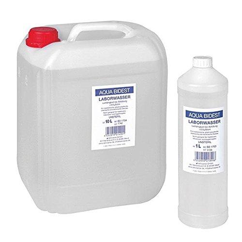 Aqua Bidest Laborwasser 10 Liter