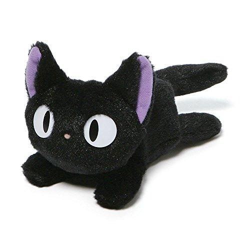 "GUND Kikis Delivery Service Jiji Beanbag Cat Stuffed Animal Plush, 6.5"""
