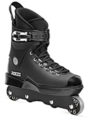 Excellent men's inline skates for grinding: The Roces M12 UFS inline skates for adults are perfect for grinding, thanks to the 2 central grind wheels made of 97% recycled PVC and 3% black colour masterbatch Shell & cuff made of extremely durable high...