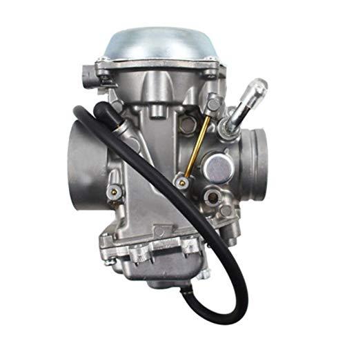 UGUTER Go Kart Carburetor Kit de filtros de Gas de carburador Carb Carb Filters para su-zuki Qua-d Master 500 lta500f 2000-2001 100% reemplazo para los Viejos en Carburador 125cc