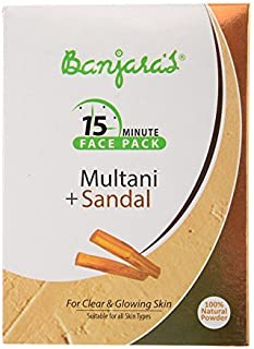 Banjara's Fuller's Earth Multani Mitti Facepack 100g