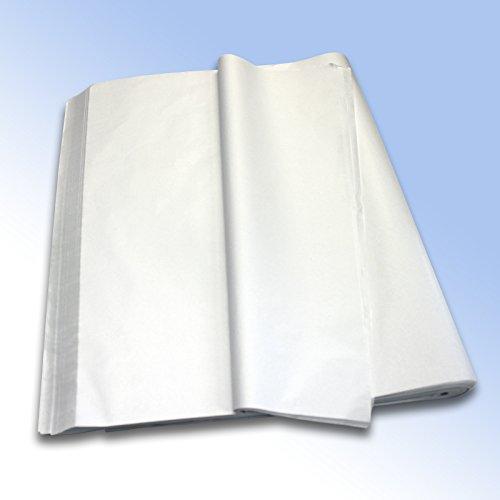 1risma da 480fogli) di alta qualità bianco puro MG carta velina (senza acido) 500mm x 750mm, 50,8x 76,2cm, 18g/mq
