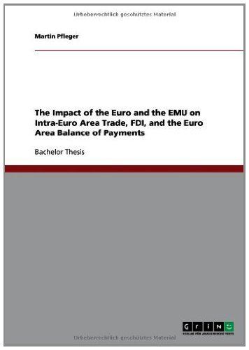 The Impact of the Euro and the EMU on Intra-Euro Area Trade, FDI, and the Euro Area Balance of Payments (English Edition)