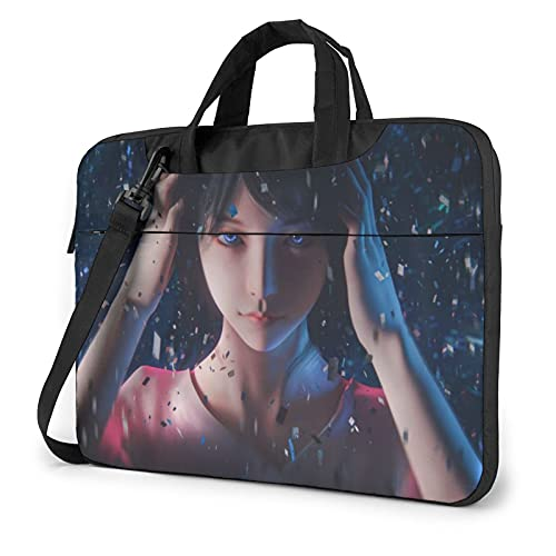 Laptop Sleeve Bag Fantasy Girl Tablet Briefcase Ultraportable Protective Canvas for 13 inch MacBook Pro/MacBook Air/Notebook Computer