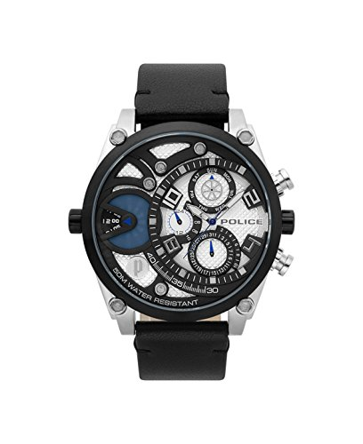 reloj Police dual time