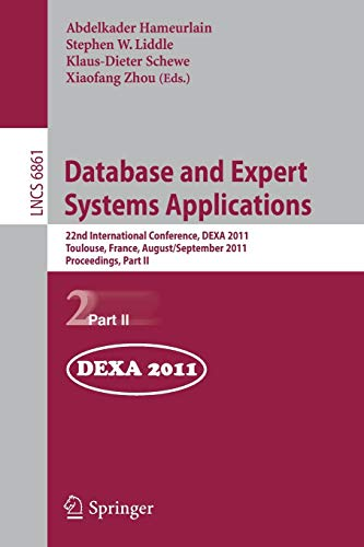 Database and Expert Systems Applications: 22nd International