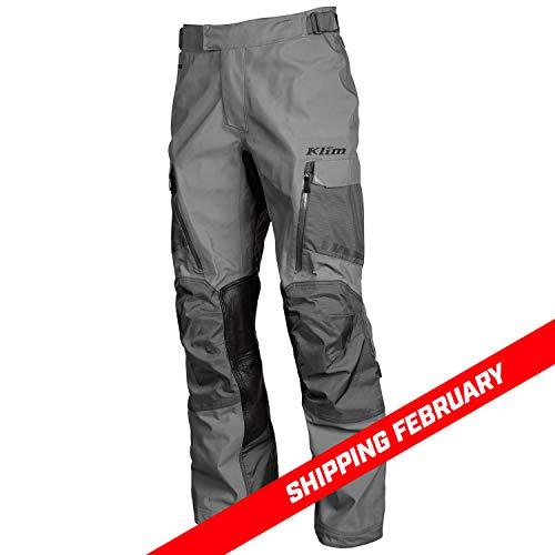 KLIM Gore Tex Motorradhose Carlsbad Redesign Pants D3O Level 2, Asphalt, 34