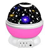 2-10 Year Old Girl Gifts, Friday Starry Night Light Projector 360 Degree Rotation
