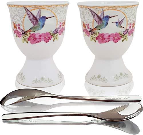 NobleEgg Premium Egg Cup Set