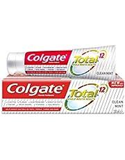 معجون اسنان توتال كلين بالنعناع من كولجيت 100 مل