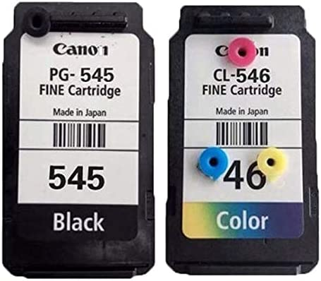Accessories for Printer PRTA38082 Compatible 545XL 545 XL Cartridge Replacement for Canon PG545 PG-545 PG 545 for Pixma MG3050 2550 2450 2550S 2950 MX495 - (Type: 545XL BK) ( Color : 545XL BK 546XL )