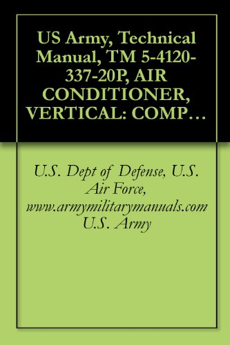US Army, Technical Manual, TM 5-4120-337-20P, AIR CONDITIONER, VERTICAL: COMPACT, SELF-CONTAINED AIR...