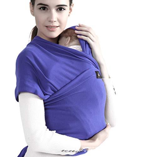 Gpzj Mochila Portabebé Ergonómico Multifuncional ,Fular portabebés 100% algodón ecológico para recién Nacidos de hasta 15 kg Transpirable sin Elastano Artificial
