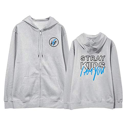 APHT Stray Kids I Am You Kapuzenpullover Hoodies Kpop Sweatshirt Bang Chan Changbin Hyunjin Han Felix Seungmin Pullover Jumper Street Fashion Top für Männer Frauen Jungendlichen