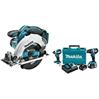 2-Piece Makita XT269M 18V LXT Lithium-Ion Brushless Cordless Combo Kit + Lithium-Ion Cordless 6-1/2