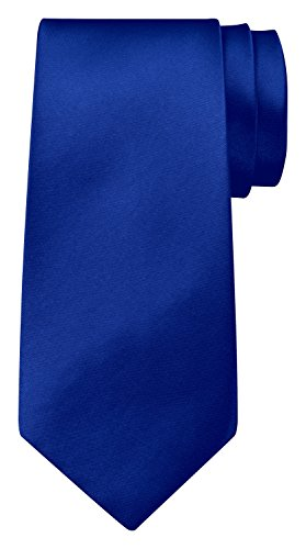 BomGuard BomGuard 8 cm blau blau glänzend herren-krawatte damen seide männer frauen