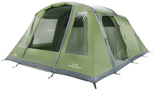 Vango Odyssey Air Aufblasbares Zelt, Grün (Epsom Green), 6Personen