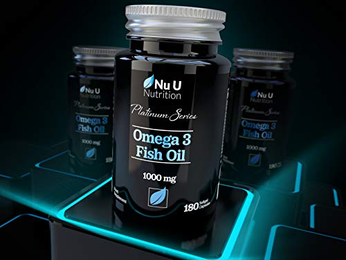 Omega-3-Fish-Oil-1000mg-Double-Strength-EPA-DHA-Softgel-Capsules-Omega-3-6-9-180-6-Month-Supply-Premium-Fish-Oil-Capsules-1000mg-Made-in-The-UK-by-Nu-U-Nutrition