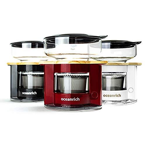 オーシャンリッチ(Oceanrich)『自動ドリップ・コーヒーメーカーレッド(UQ-CR8200RD)』