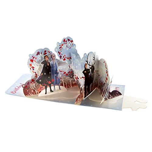 Hallmark 3D-Geburtstagskarte, Motiv Disneys Die Eiskönigin